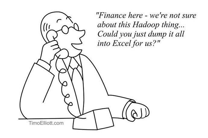 not sure about this hadoop thing 690