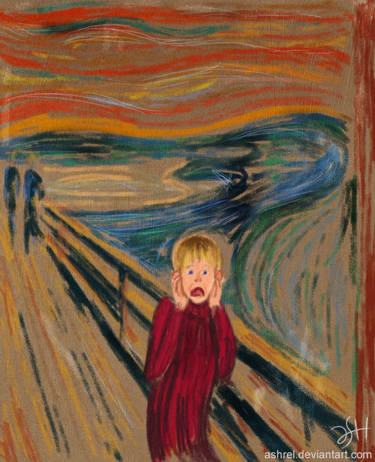 the scream child