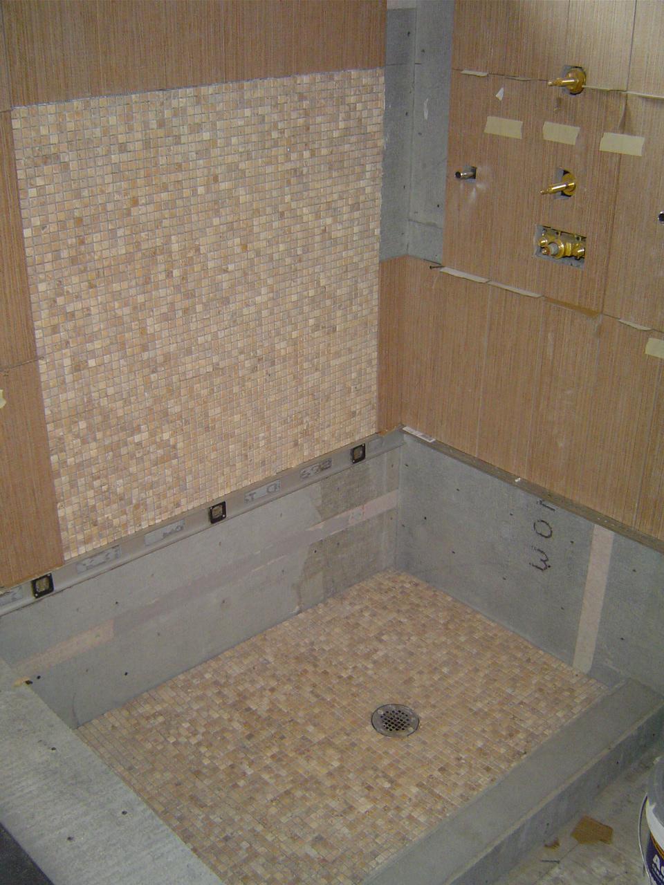 Fullsize Of Custom Shower Pan