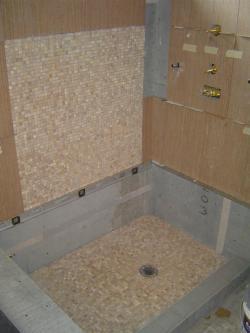 Small Of Custom Shower Pan