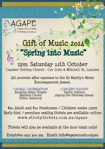 """Spring into Music"" @ Camden Uniting Church"