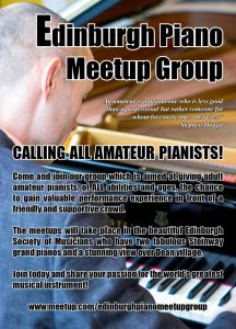 The Edinburgh Piano Meetup Group @ The Edinburgh Society of Musicians