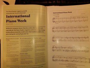 International Piano Week @ Your studio