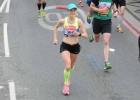 Tina Muir london marathon 2015