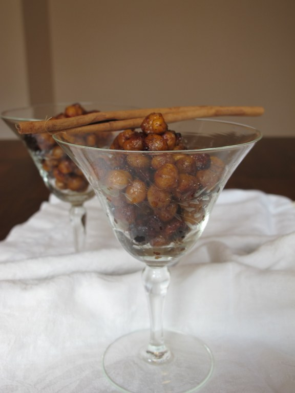 Honey Cinnamon Roasted Chickpeas – Tina's Chic Corner