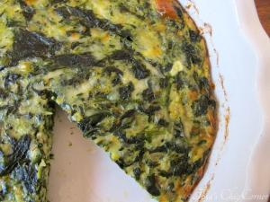 03Crustless Spinach Quiche
