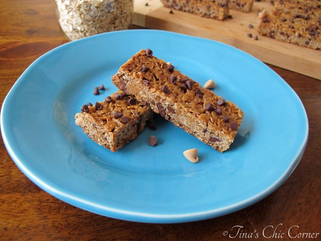 Peanut Butter Chocolate Chip Granola Bars – Tina\'s Chic Corner