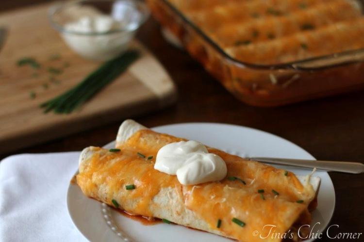 07Chicken Enchiladas