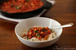 07Tomato Chickpeas with Dried Fig Infused Rice