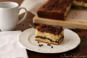 10Chocolate Swirl Cinnamon Streusel Coffee Cake