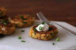 10Chickpea Cakes