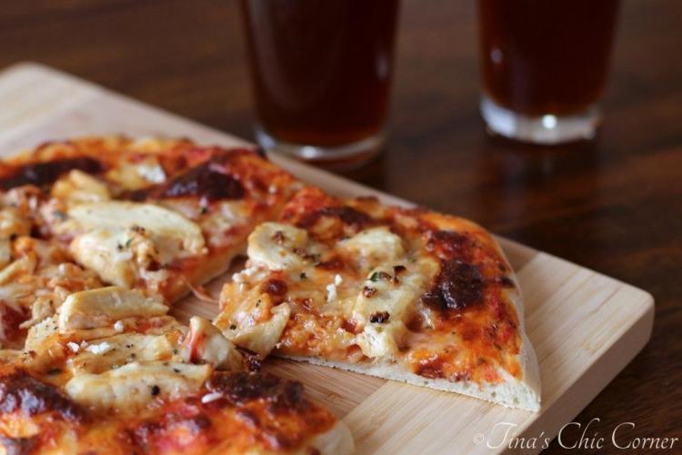 10Garlic Chicken Pizza