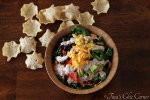 01Vegetarian Taco Salad