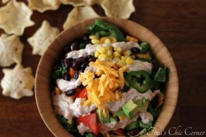 02Vegetarian Taco Salad