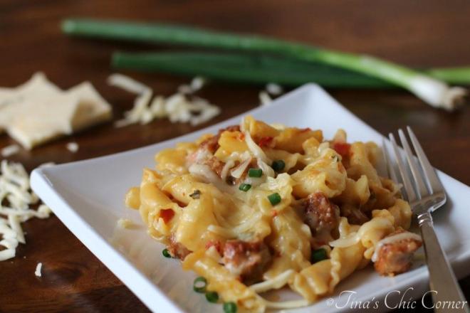 03Spicy Chorizo and Pasta
