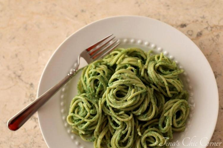 07Pasta With Kale Sauce2