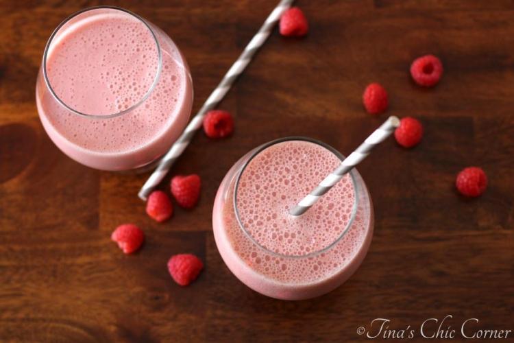 03Raspberry Vanilla Smoothie