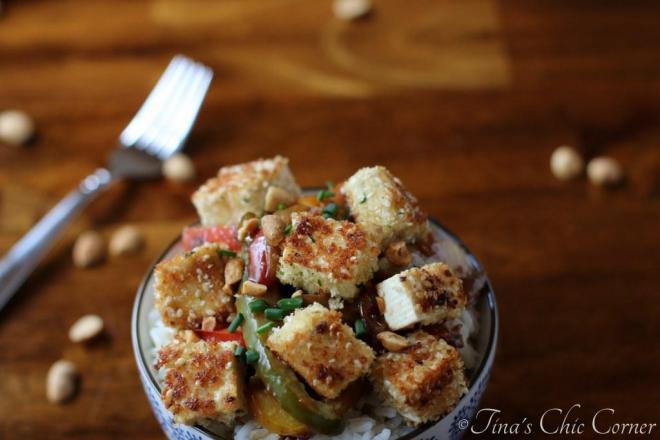 16Sesame Crusted Tofu