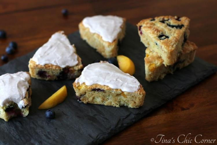 11Peach Blueberry Scones