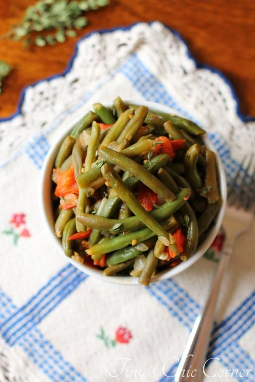 06Green Beans With Tomatoes