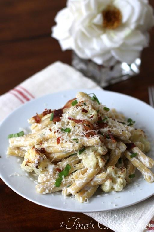 Roasted Cauliflower and Pasta04