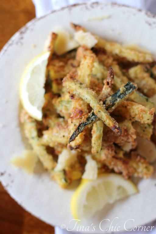 Baked Parmesan Zucchini Fries11