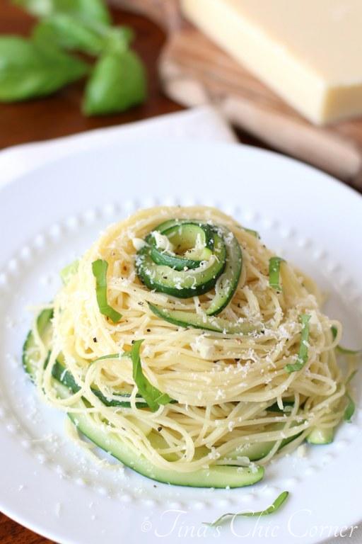 Pasta, Zucchini & Garlic05