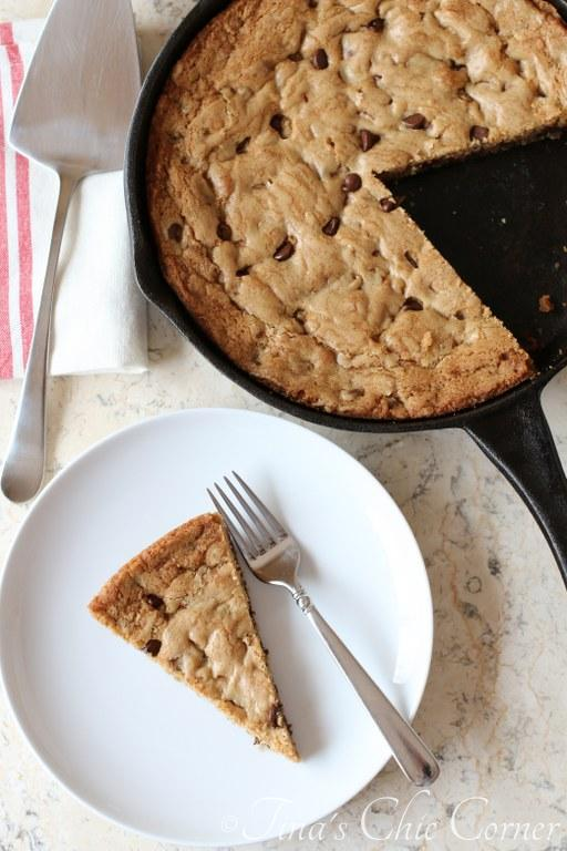 Chocolate Chip Skillet Cookie03