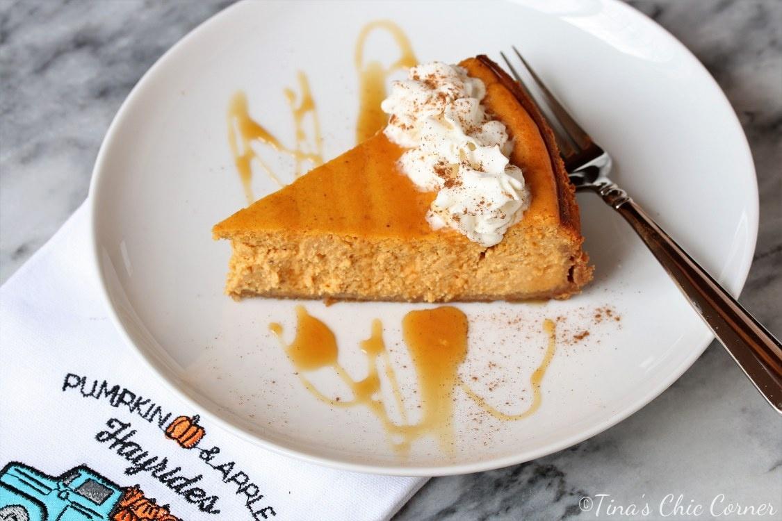 Pumpkin Cheesecake – Tina's Chic Corner