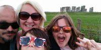 Unashamed Stonehenge Family Selfie