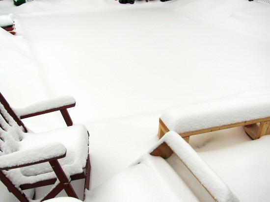 Overnight snowfall