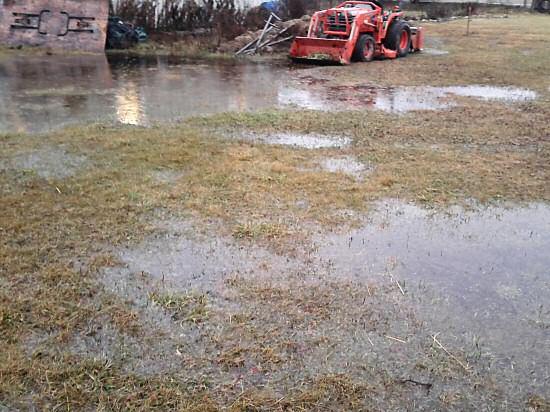 Waterlogged in December
