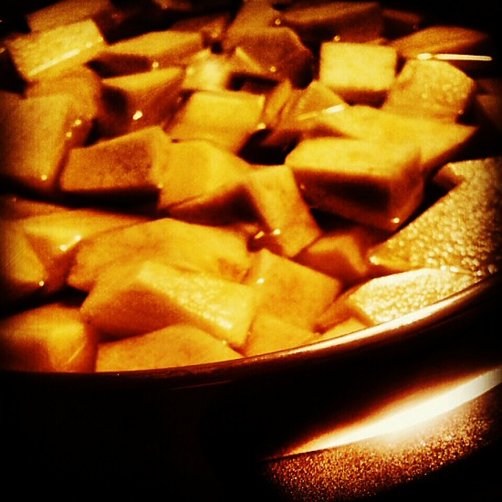 Cooking turnip (rutabaga)
