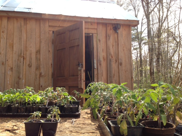 Tiny House Family relies on sheds.