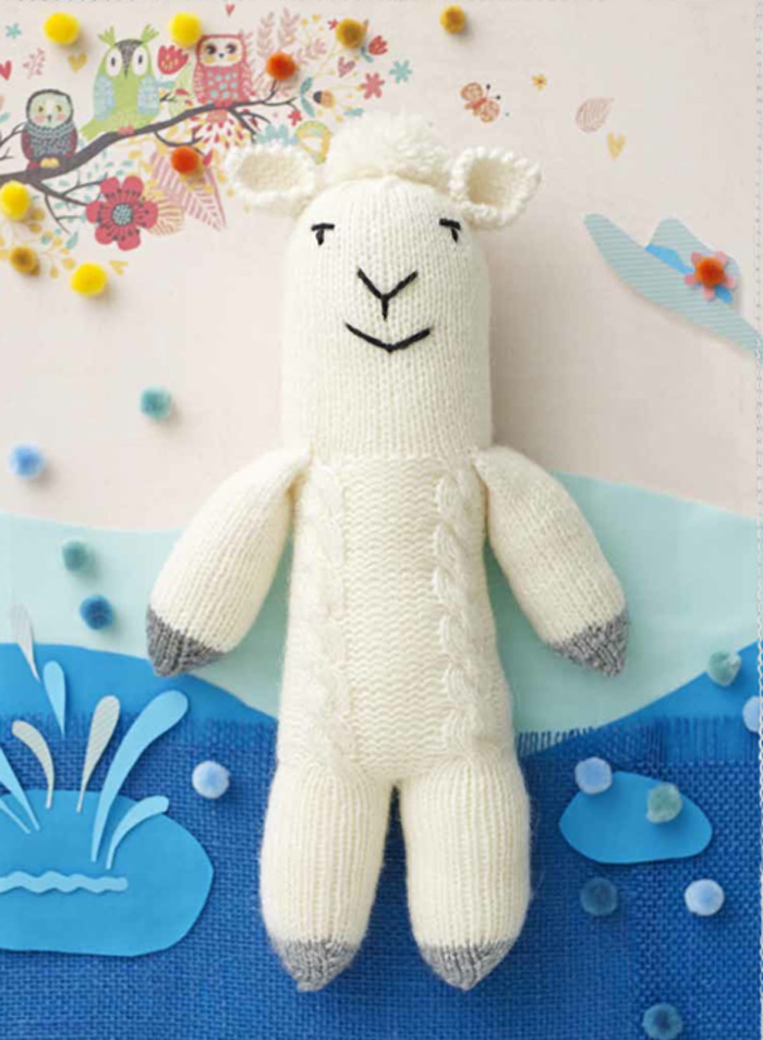 knitted-toy-llama