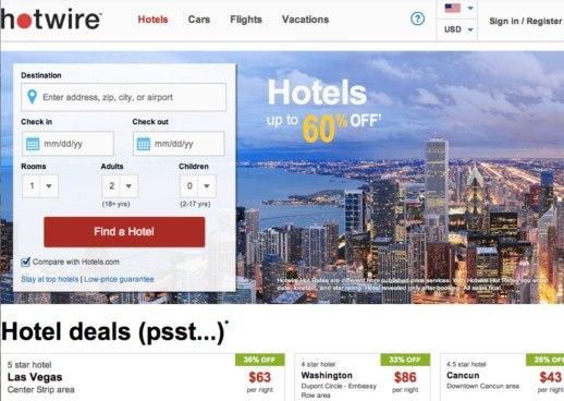 easy ways  score secret hotel deals