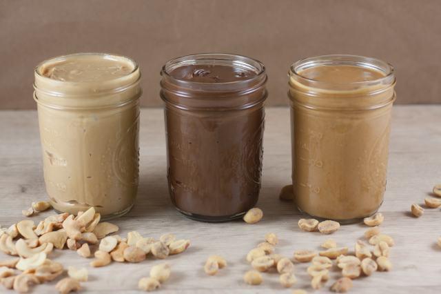 Nut Butter In Jars