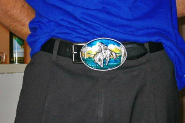 Belt Buckle Shine