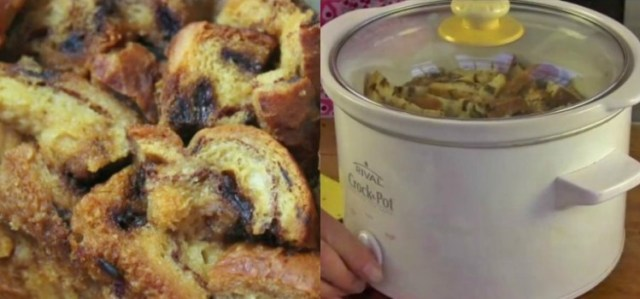 Crockpot Bread Pudding