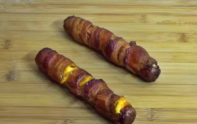 Bacon-WrappedHotDogs