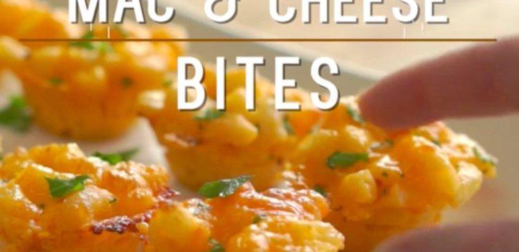 Mini Mac Cheese Bites