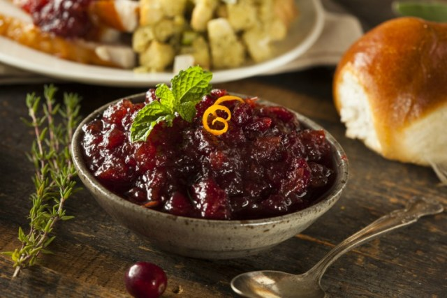 Cranberry Sauce Not For Pets