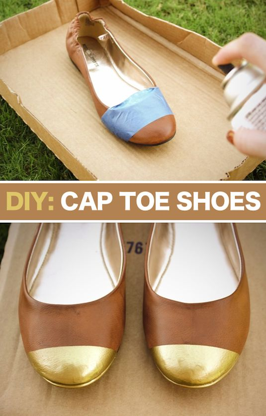 Cap Toe Shoes