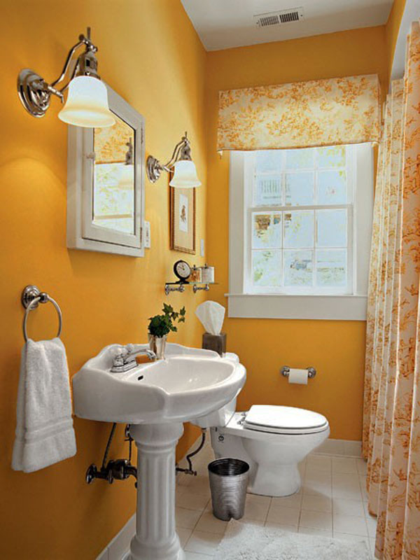 Small Bathrooms Come Alive With These 20 Stylish Transformations – Bathroom Painting Ideas for Small Bathrooms