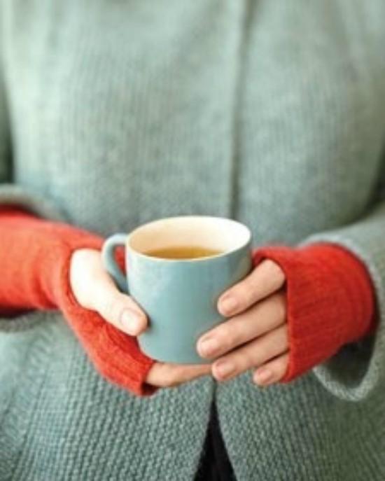 Fingerless Sweater Mittens Edited