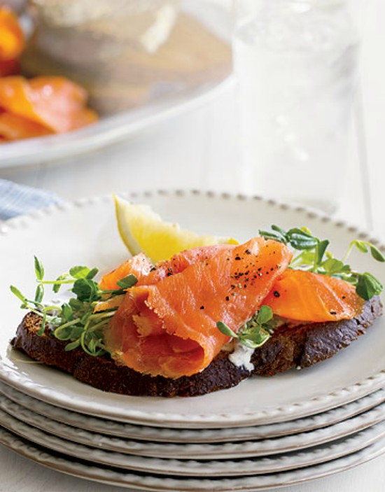 Smoked Salmon Toast Edited