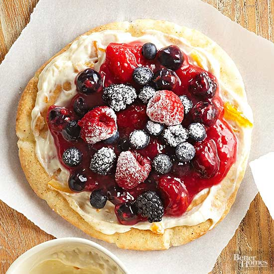 Berry BFast Pizza