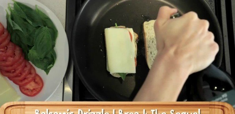 Caprese Grilled Cheese Edited