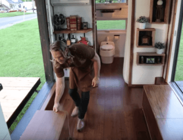 "Beautiful ""alpha"" tiny house has so many amazing features despite it's size"