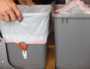 Some great tips to make taking out the trash easier